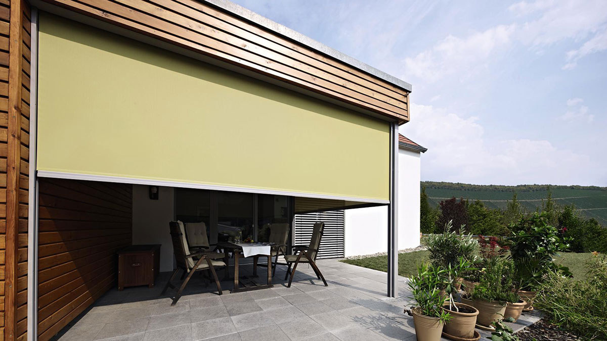 Modern und elegant in der Mode retro günstige Preise Textilscreens   MBÖ Bauelemente GmbH, Hillerse